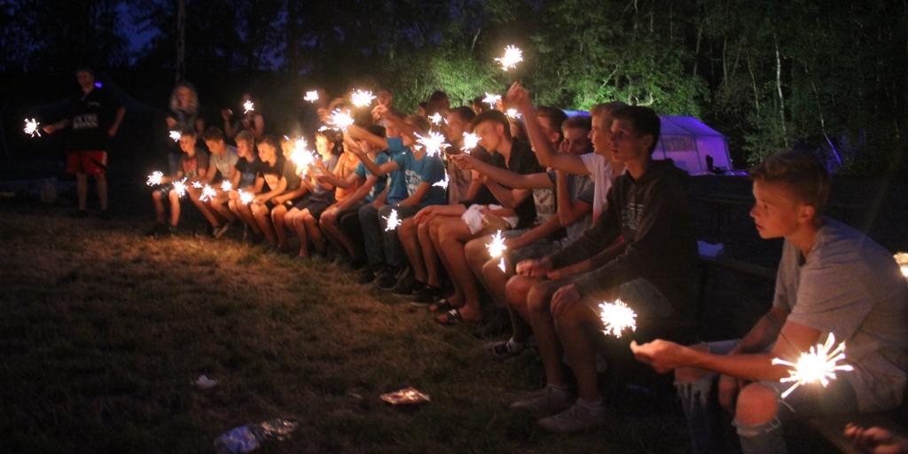Bergfest im Zeltlager