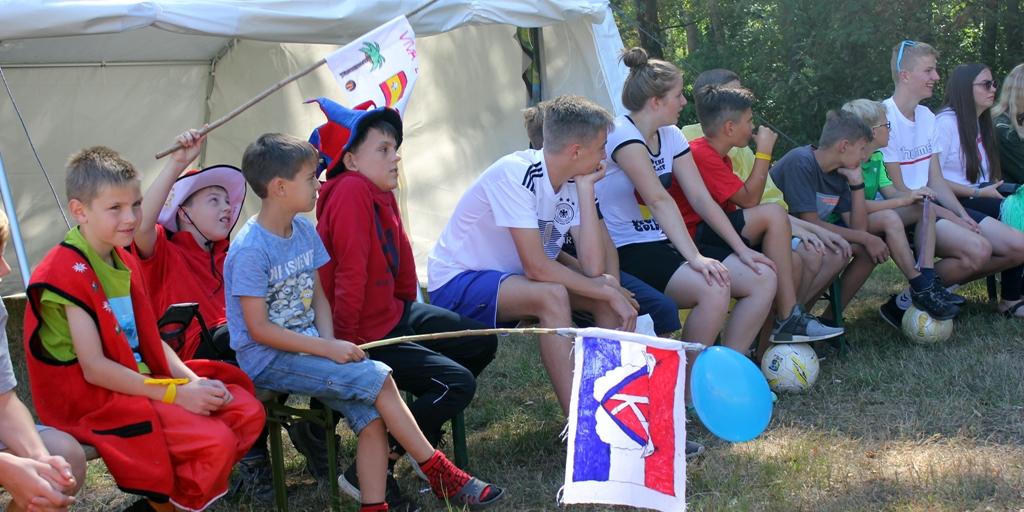 Fußball-Tag im Zeltltager