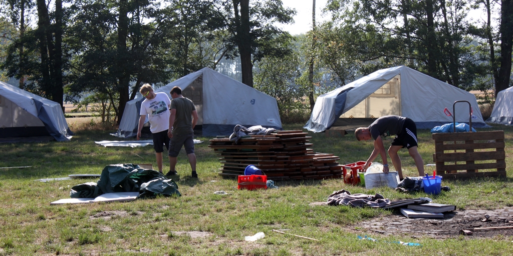 Vortrupp Zeltlager Gifhorn